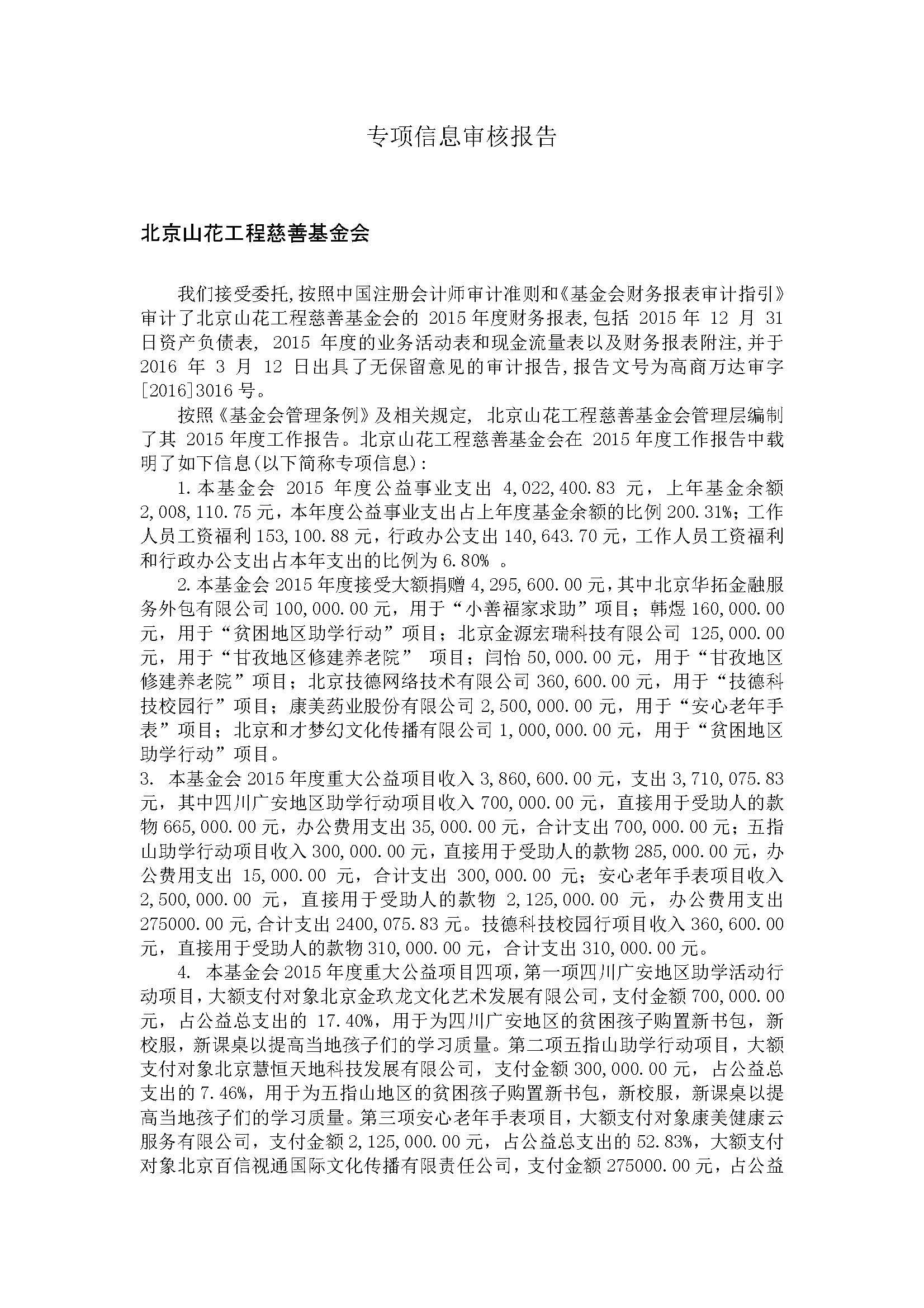 山花工程基金会专项信息审核报告_页面_1